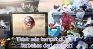 Bumi yang dibanjiri sampah
