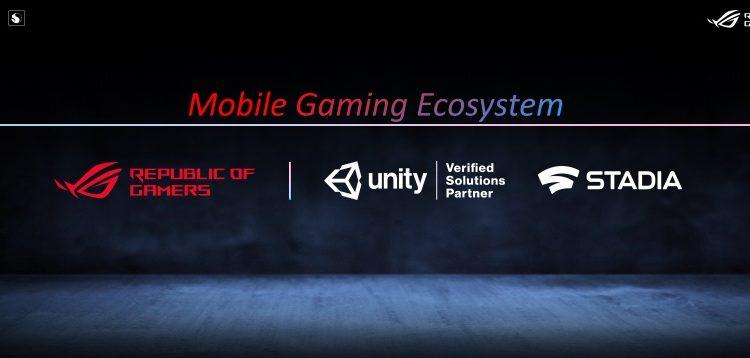 Ekosistem gaming ROG dengan Stadia dan Unity