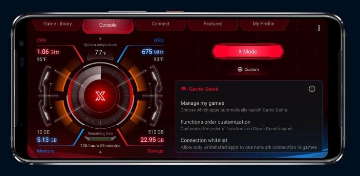 Fitur X Mode ASUS ROG Phone 3